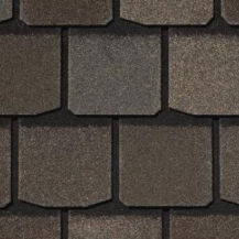 Гибкая черепица Certainteed Highland Slate, Fieldstone Max Def Weathered Wood